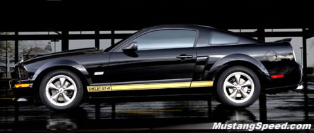Profile of the 2006 Shelby GT-H