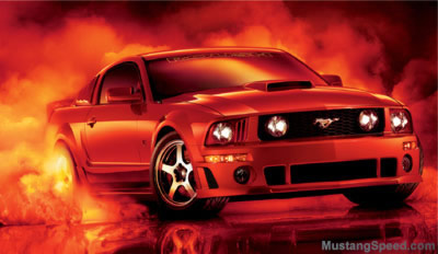 2007 Roush Style Mustang