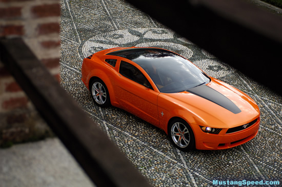 2009 Mustang Concept Roof